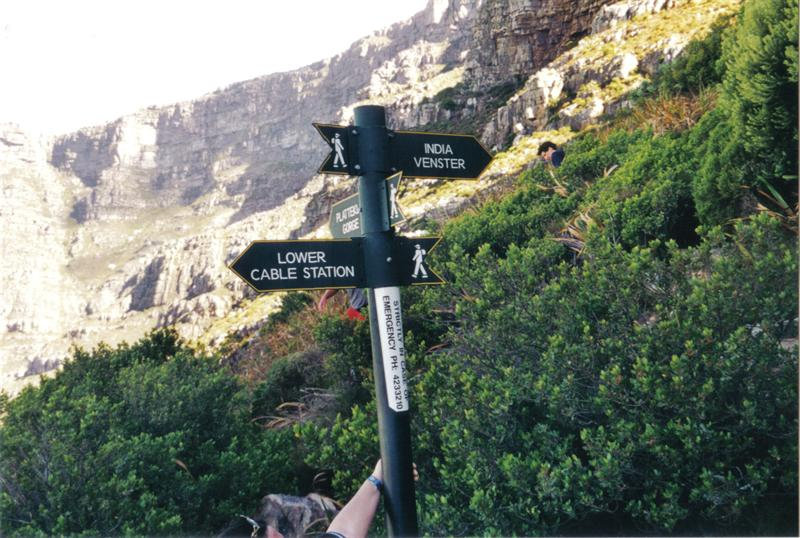 Climbing Table Mountain