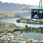 Birthday bungy jump - Queenstown, NZ....
