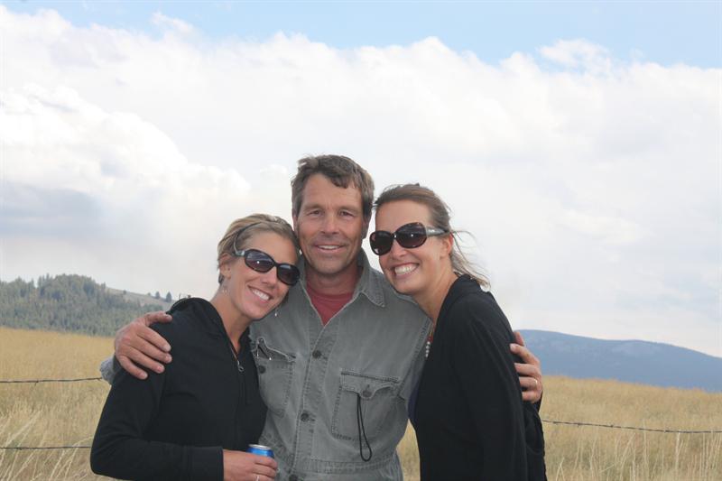 With our teacher John