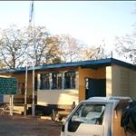 Botswana border / Frontière du Botswana