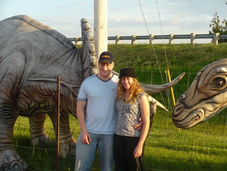 We're in Dinosaur Land