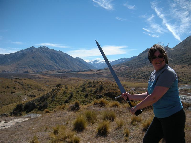 The Lord of the Rings Sword at Rohan. WOW A