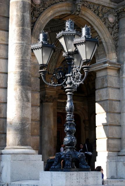 Opera House lamp post