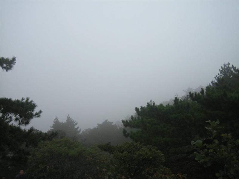 早晨的黄山