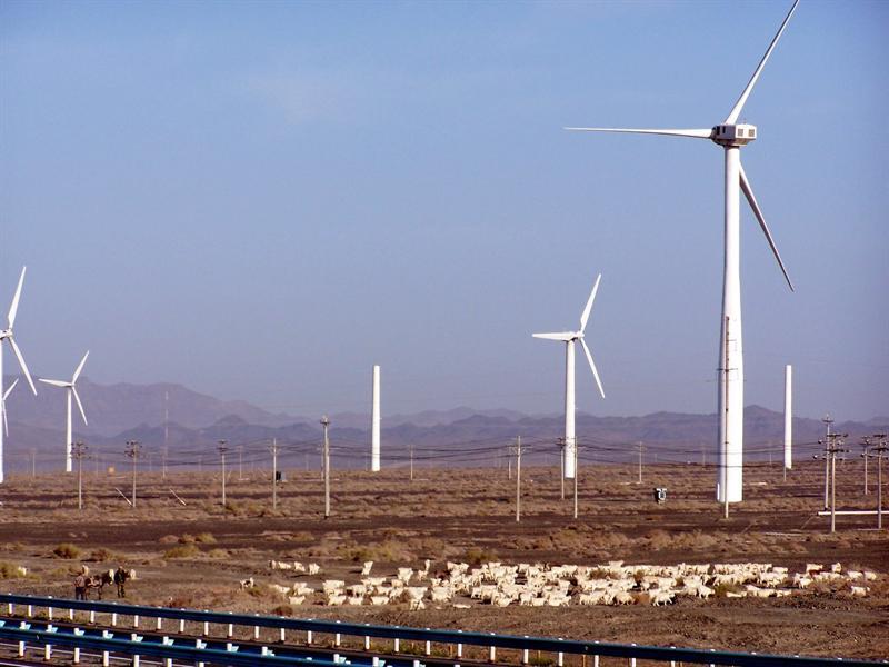 Windmill,Turpan, Xinjiang