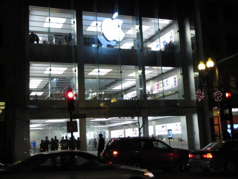 Boylston St Apple Store, Boston, MA