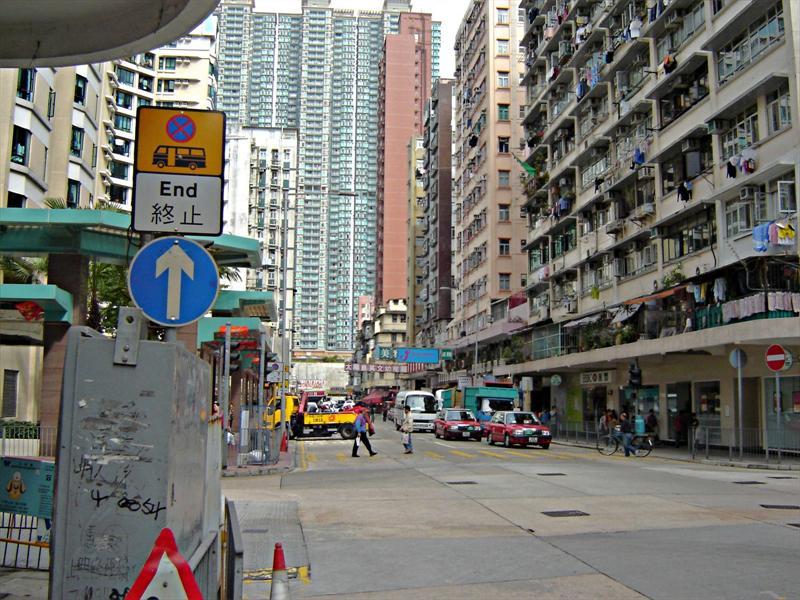 A street, Hong Kong