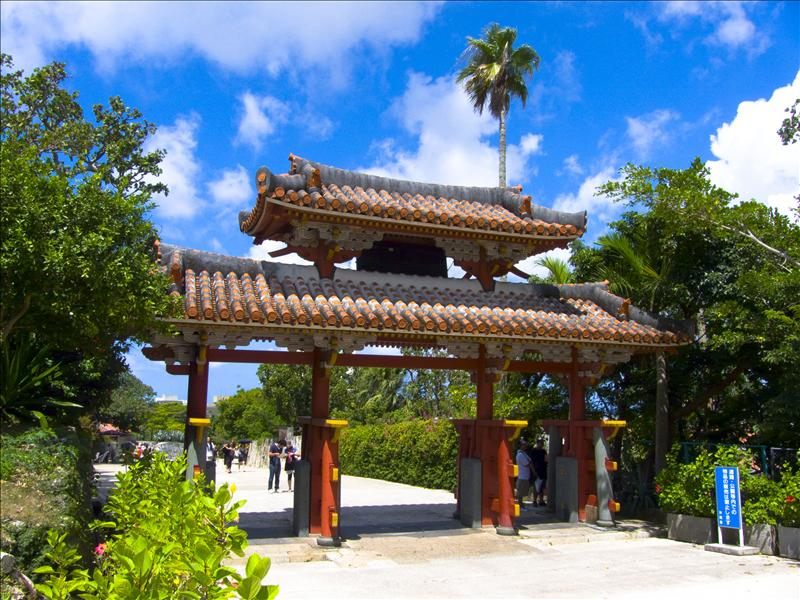 Gate of Shuri Castle