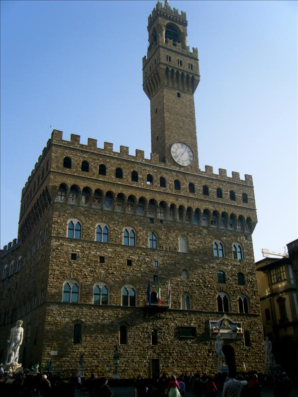 the front of the medici place