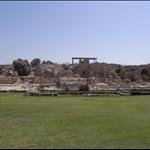 caesarea. buildt by herod in 22 BC.