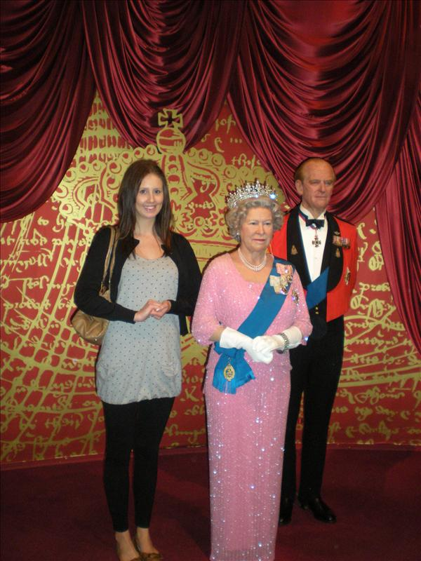 The Queen & Prince Albert, Madame Tussaude's Wax Museum - 20th May