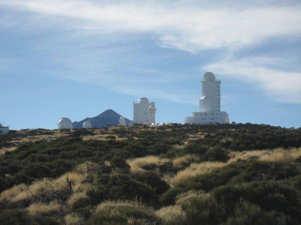 Observatoriet med Teide