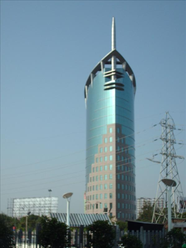 1st tower built in Gurgaon
