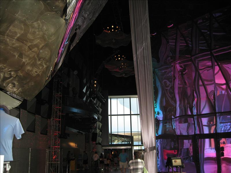 Inside EMP (Experience Music Project)
