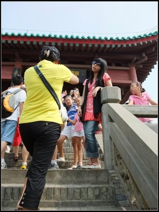 遊客一大堆是要怎麼拍照!