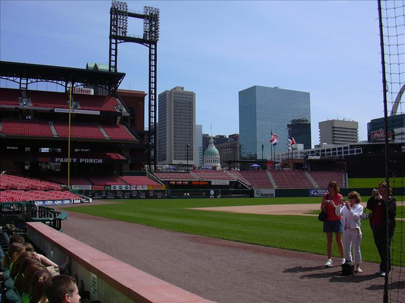 the new Busch Stadium in St. Louis, Missouri