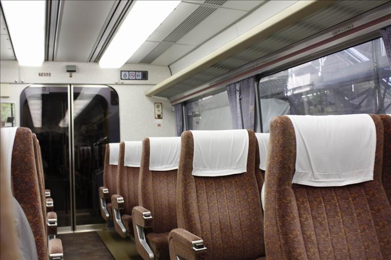 Super Express7000車廂內