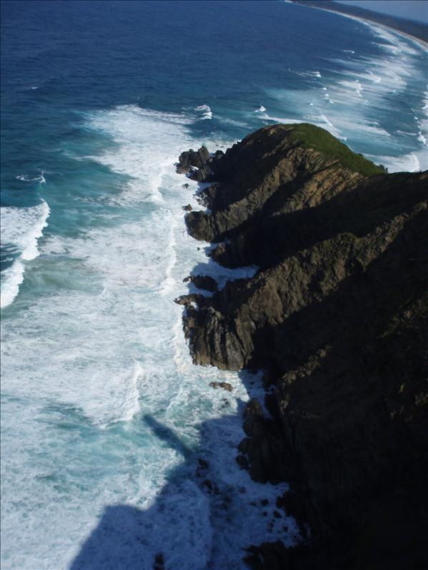 Cape Byron, hang gliding