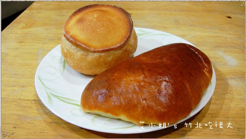 蘑菇麵包 & 奶油麵包