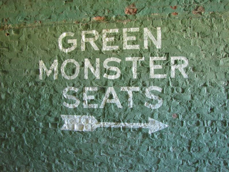 Fenway Park - Big Green Monster - Boston, MA