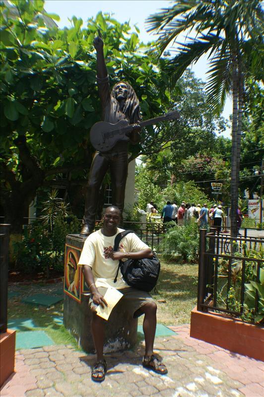 Bob Marleys Museum in Kingston Jamaica