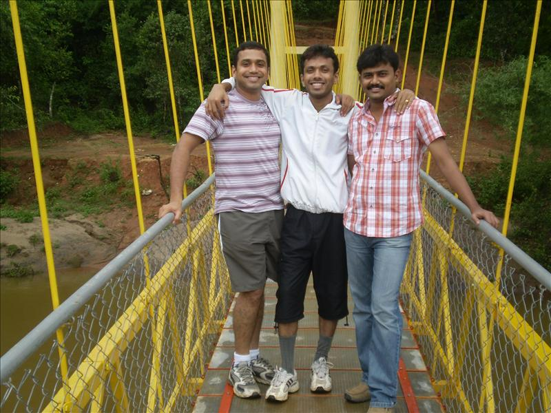 Ashlesh , Prashanth and Sandeep