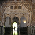 .. many Mudejar arches......