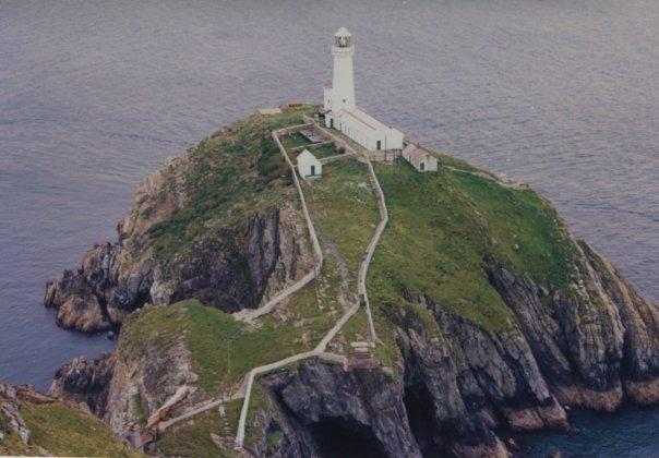 Lighthouse on Anglesey, Wales, UK