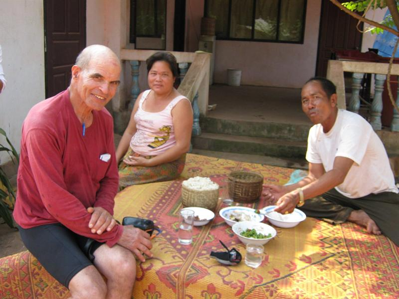 the couple we passed on the way and insisted we join them to eat (no word of english of course)