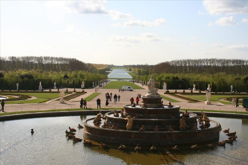 Versailles Garden goes on forever