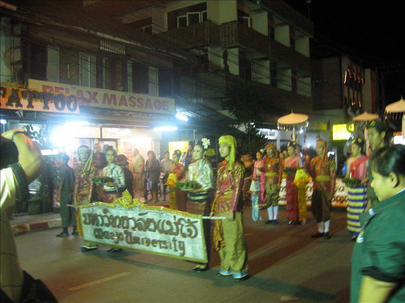 Parade in Chiang Mai
