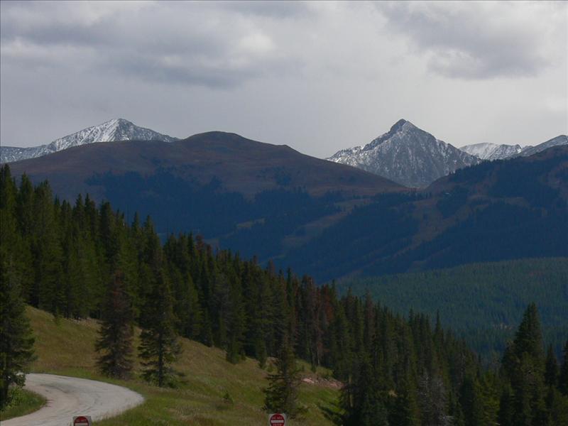 10,000 feet at vail pass