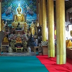 inside the temple where I meditated in the mornings.