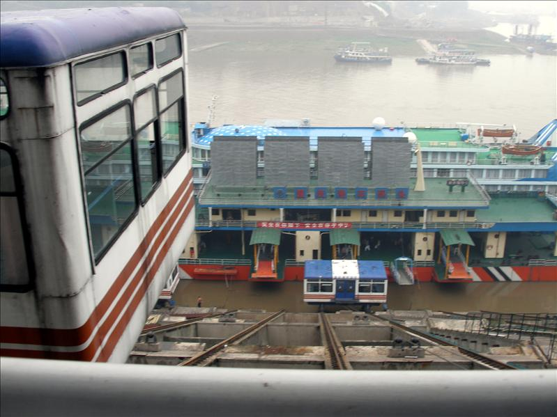 Yangtze River loading dock.