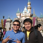 Bros at Disneyland