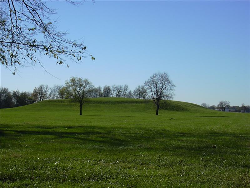 a minor mound, as they are called. Numerous ones exist or were destroyed over the centuries