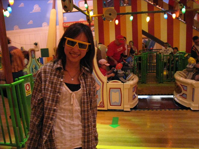 Disney - Hollywood Studio - 4D Ride - Toy Story