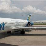 My plane home
