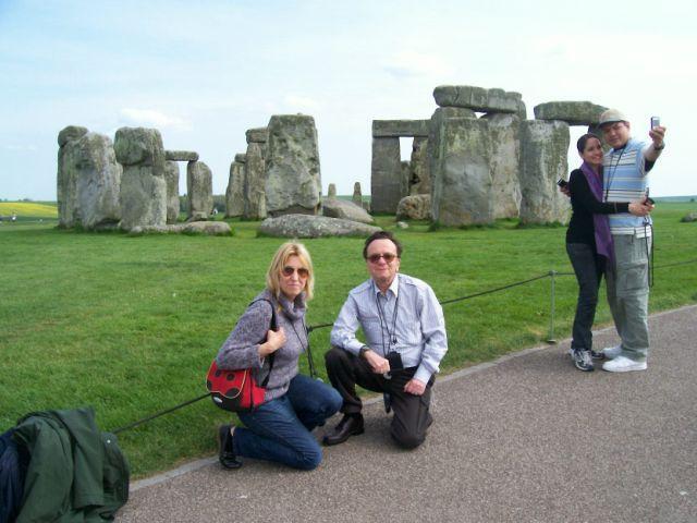 Stonehenge megalith rocks