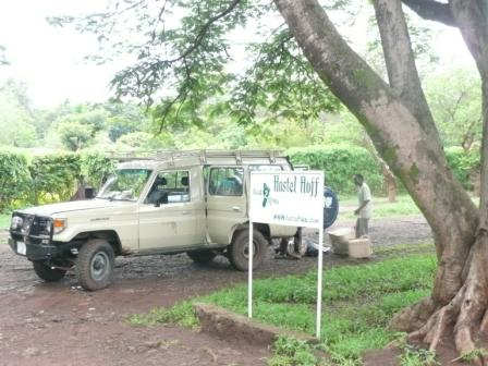 our safari jeep