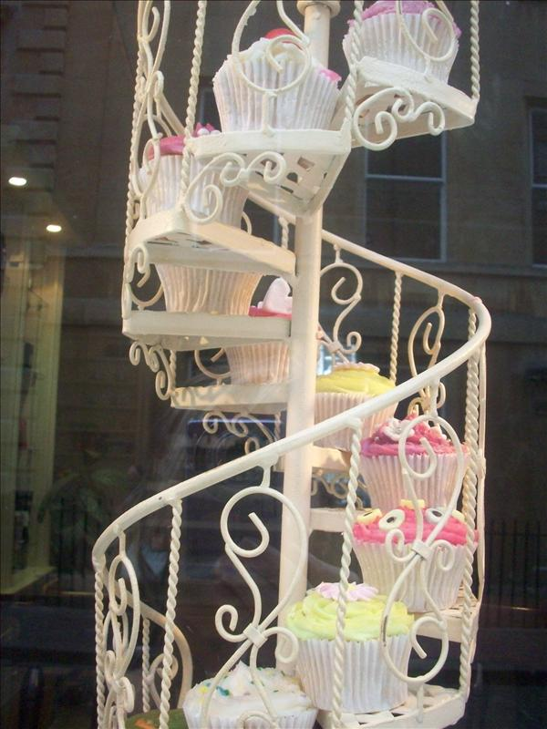 Cupcake Stairwell!