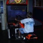 laser rock arcade game