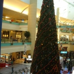 christmas tree at Abu Dhabi Mall, Abu Dhabi, UAE