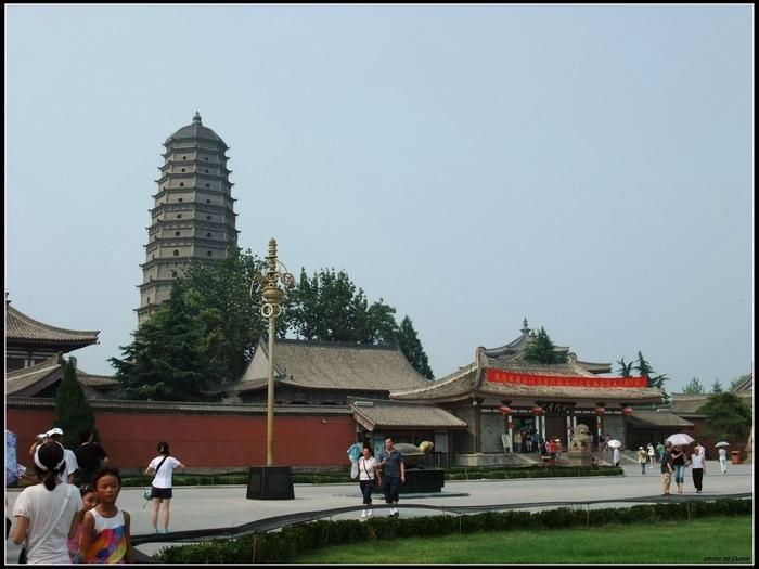 法門寺是供奉釋迦牟尼佛祖的佛指舍利的地方