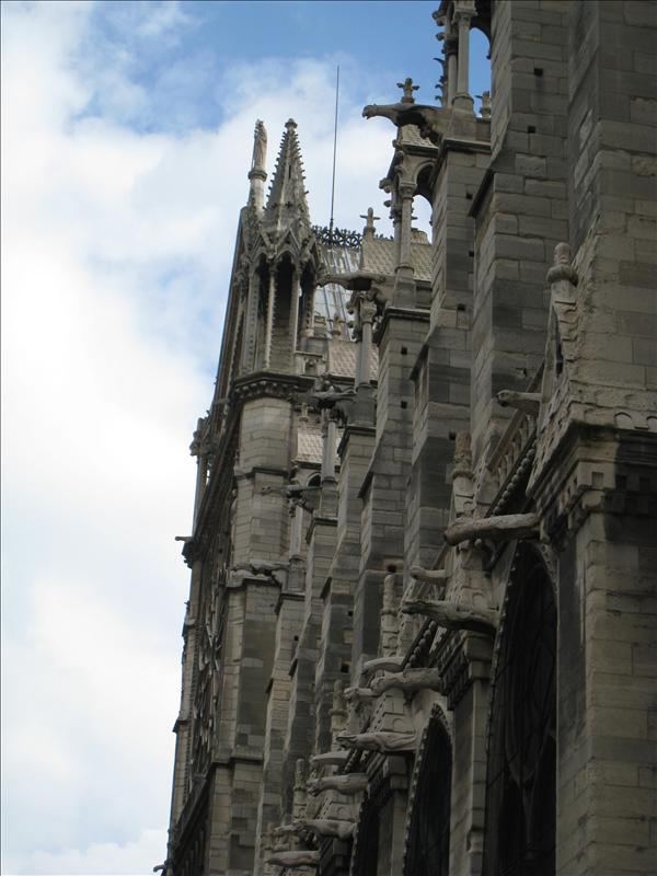 Gargoyles on the Notre Dame