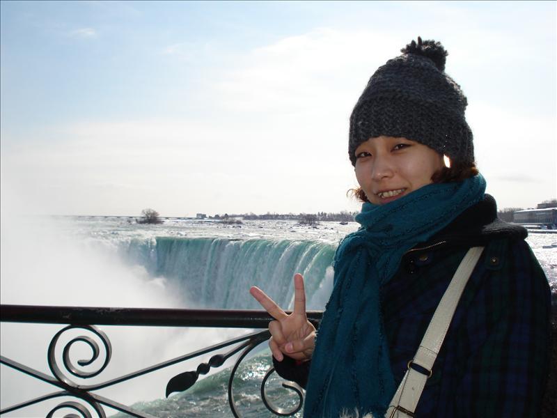 Me in Niagara.