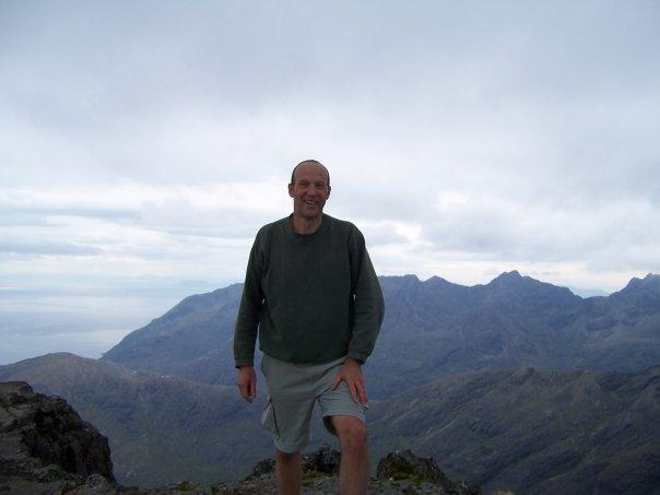 ON TOP OF SGURR NAN GILLEAN, SEPT 2006
