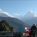 Annapurna Treks - Breathtaking view of Annapurna from tadapani.