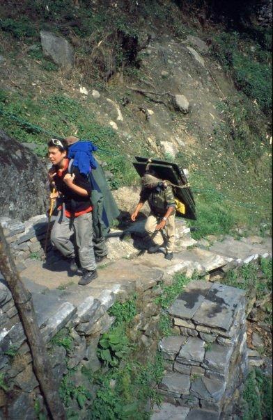 TABLE MAN 1, ANNAPURNA TRAIL