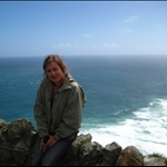 Cape reinga - windy and COLD!